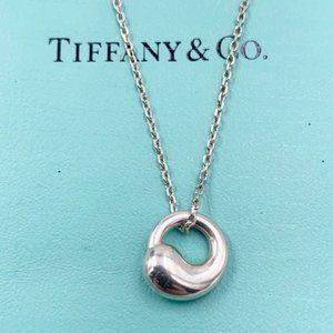 Tiffany & Co Silver Circle Necklace